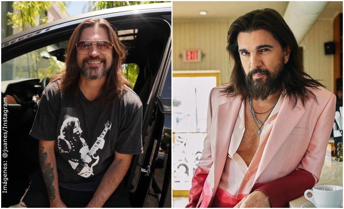 Comparan a Juanes con Jesús y Marco Antonio Solís por cambio de look