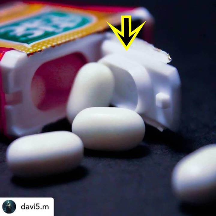 Foto de una caja de Tic Tac