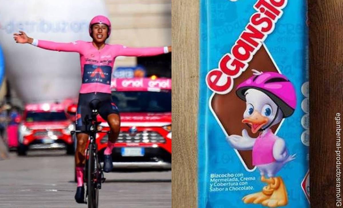 Egansito: El homenaje de Gansito a Egan Bernal tras ganar Giro de Italia