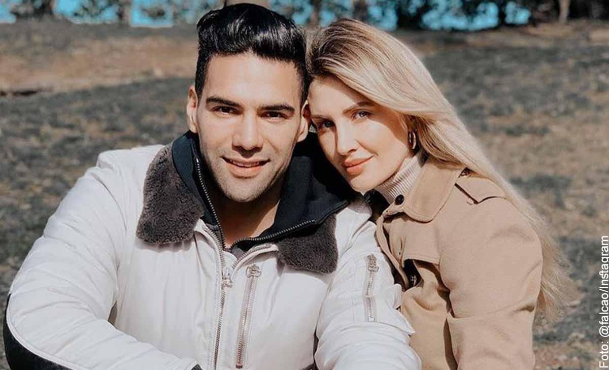 Falcao mostró la faceta más romántica con su esposa en redes