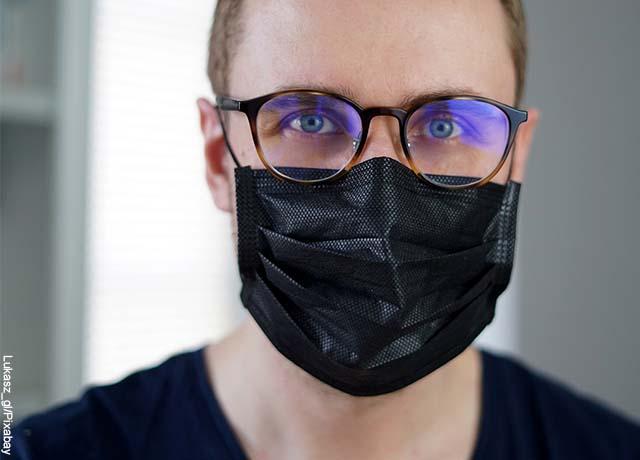Hombres con barba tienen mayor riesgo de contagiarse de Covid