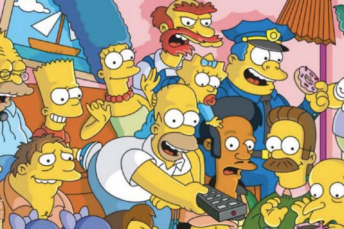 Foto de los personajes de Los Simpson