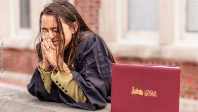 Lucy Vives, la hija de Carlos Vives y Herlinda se graduó