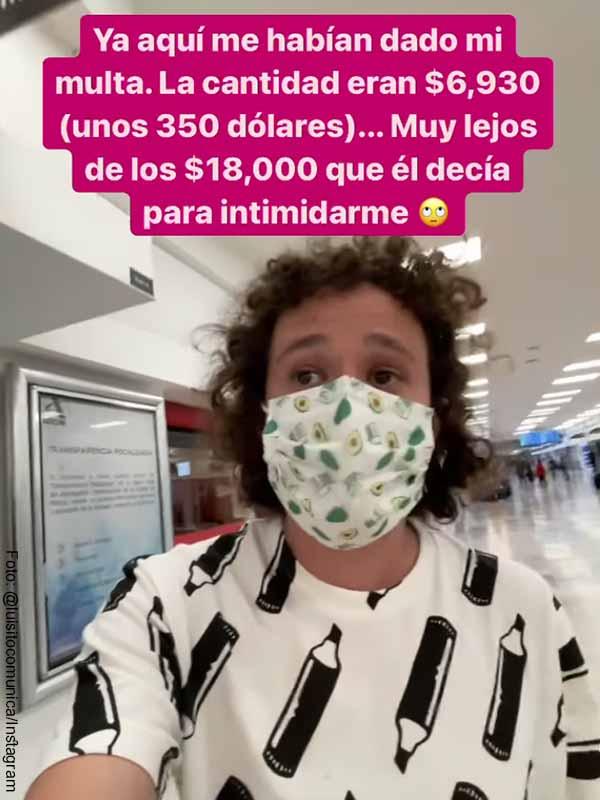 Luisito Comunica fue multado en aeropuerto por usar su celular