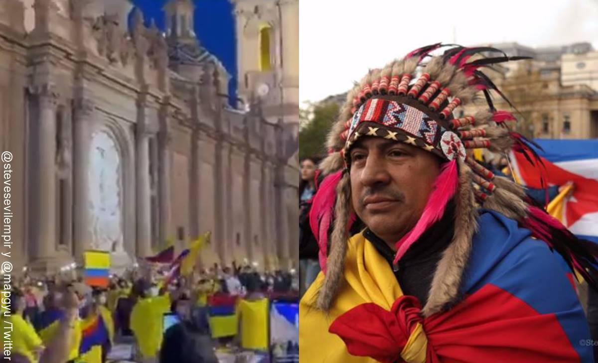 Marchas de apoyo a Colombia en el mundo 2021, ¡alzan la voz por la vida!