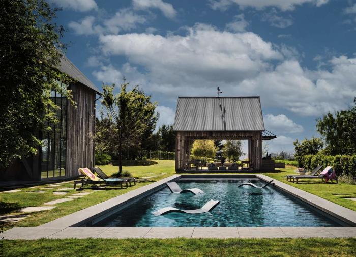 Foto de la piscina de la mansión