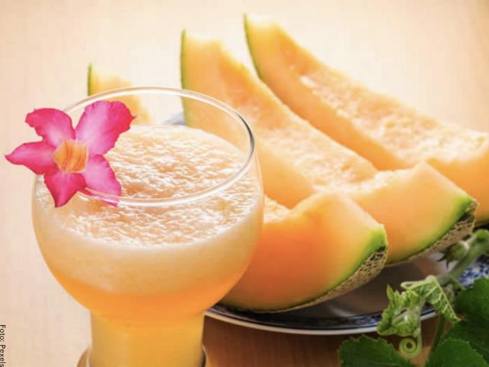 Foto de agua de melón