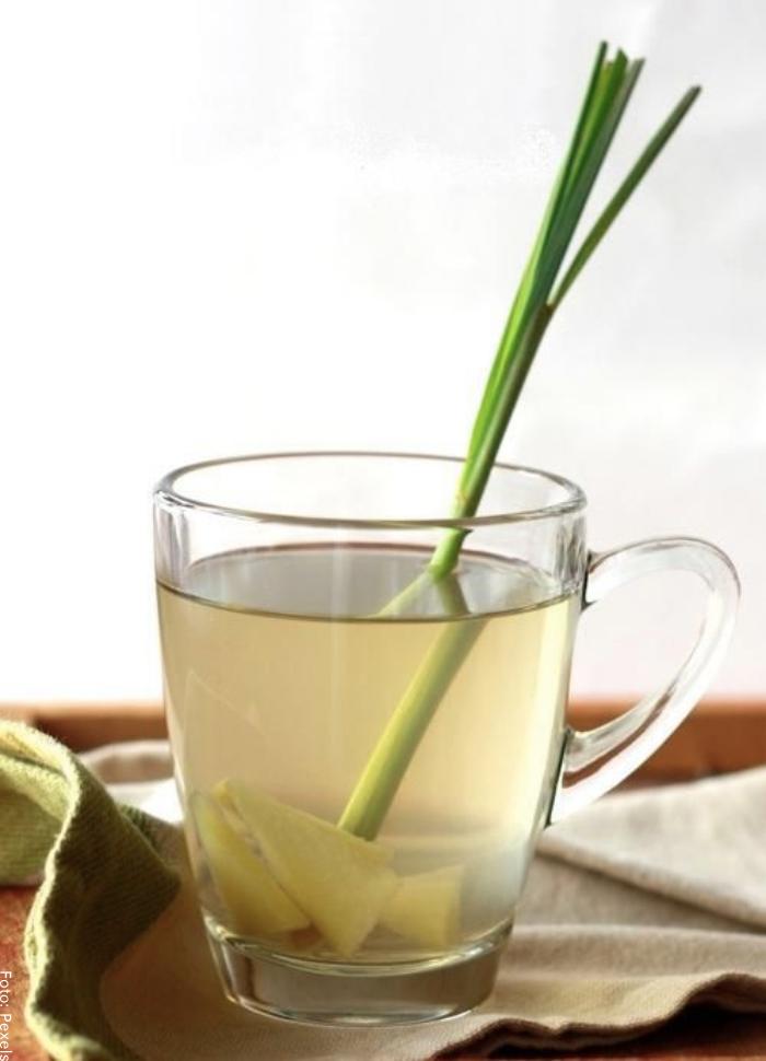 Foto de té de limonaria