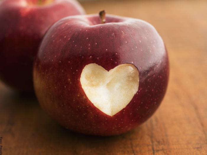 Foto de manzanas rojas