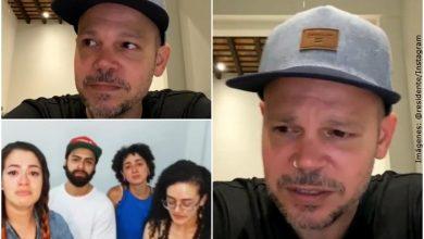 Residente no pudo evitar llorar al hablar con hermanos de Lucas Villa