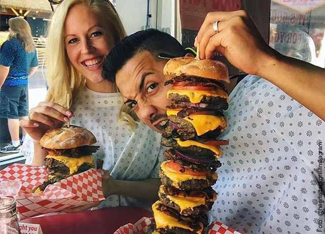 Restaurante de Las Vegas da comida gratis si pesas mínimo 160 kilos