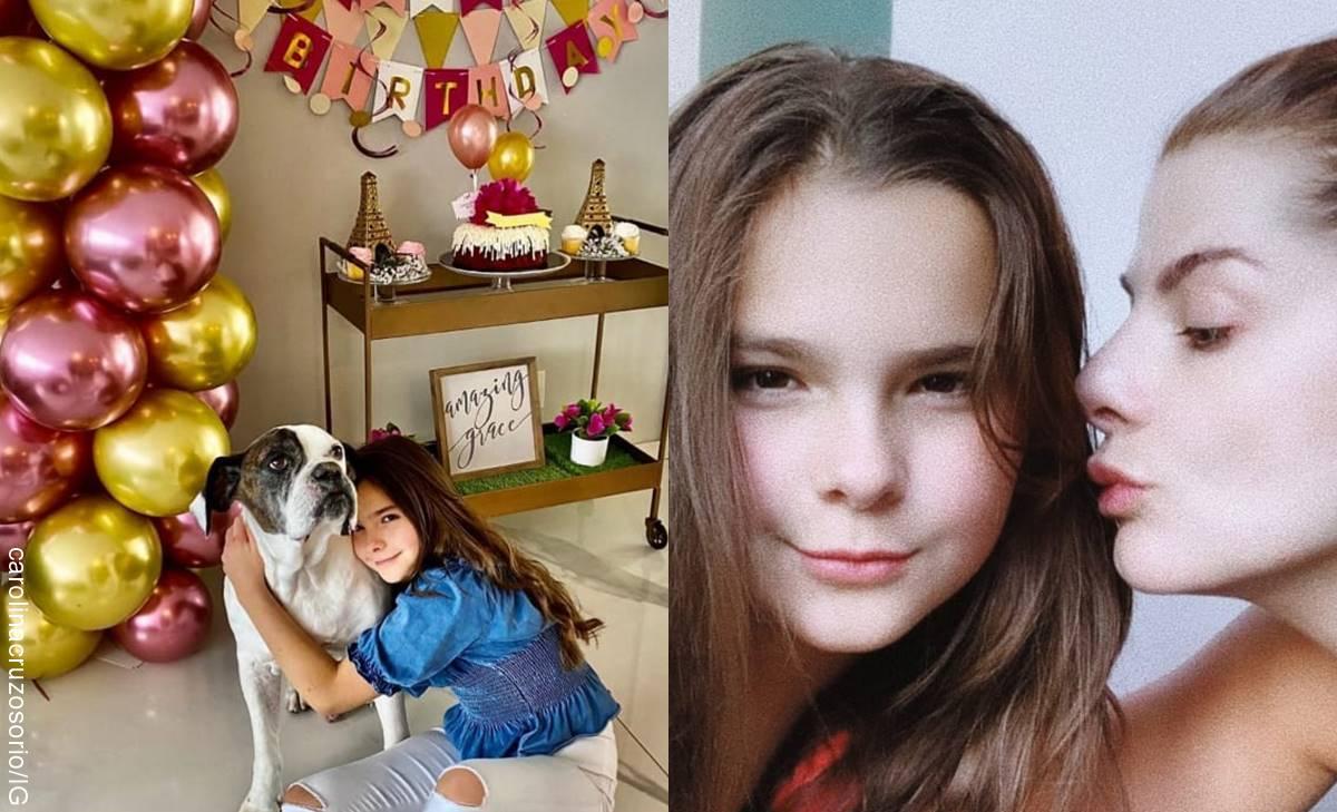Sobrina de Carolina Cruz se creció y la confunden con su tía