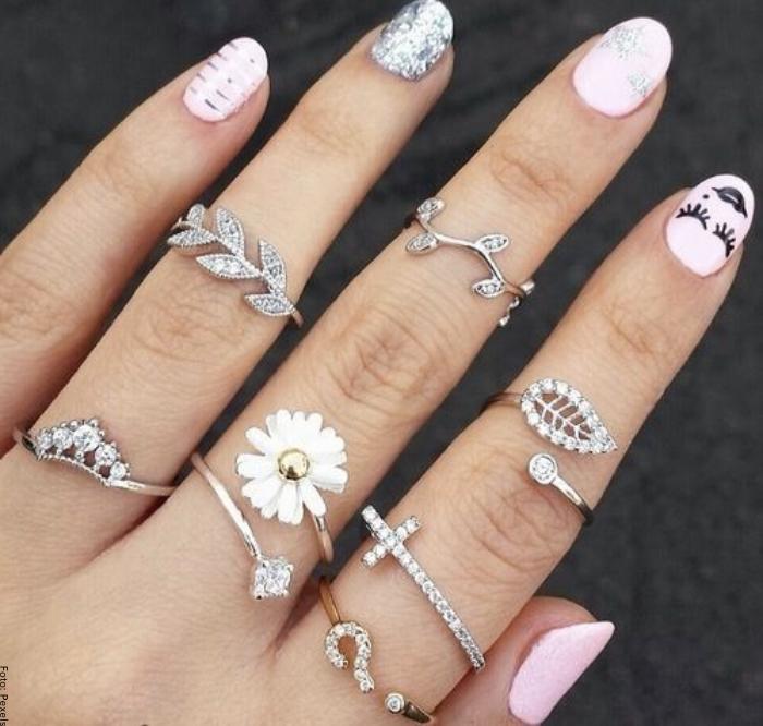 Foto de muchos anillos