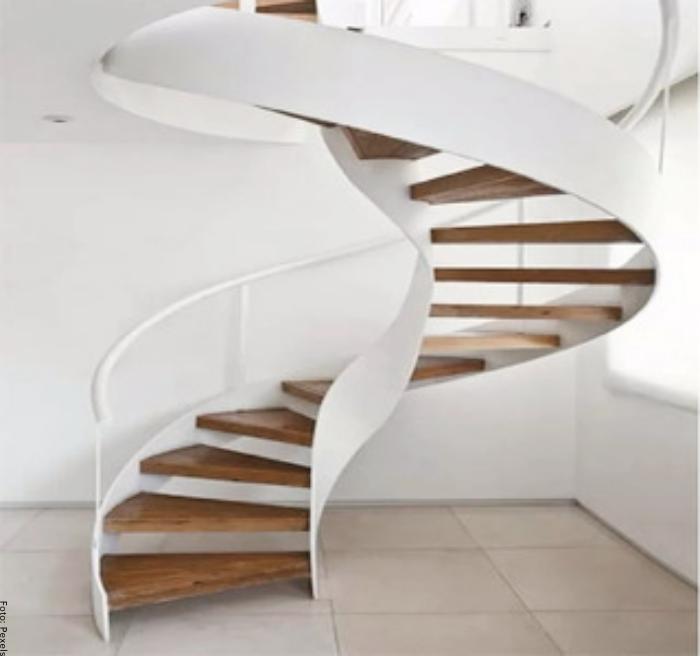 Foto de escalera caracol