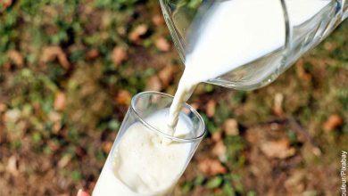 Foto de una persona sirviendo un vaso de lácteo que muestra soñar con leche