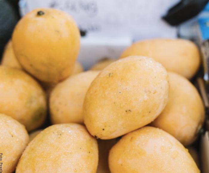 Foto de mangos amarillos