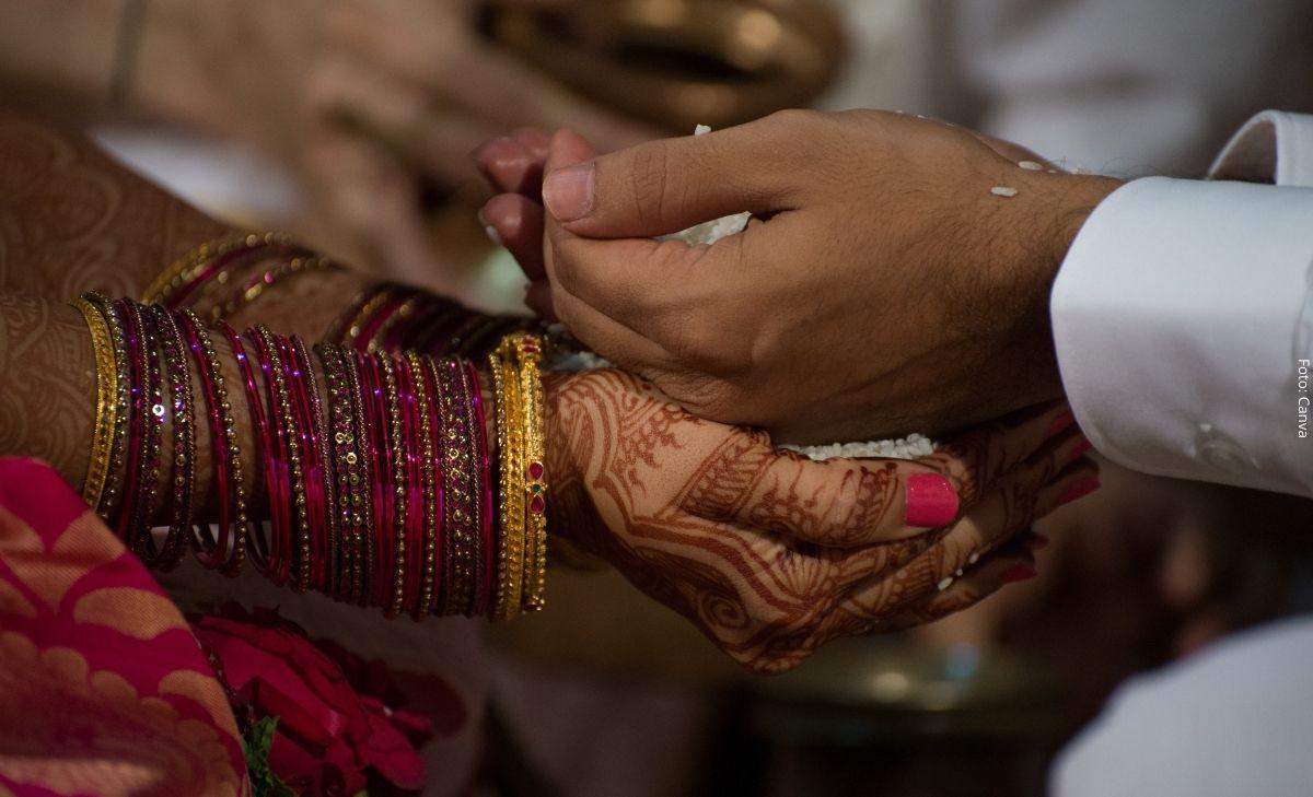 Una novia murió en plena boda y su hermana la reemplazó