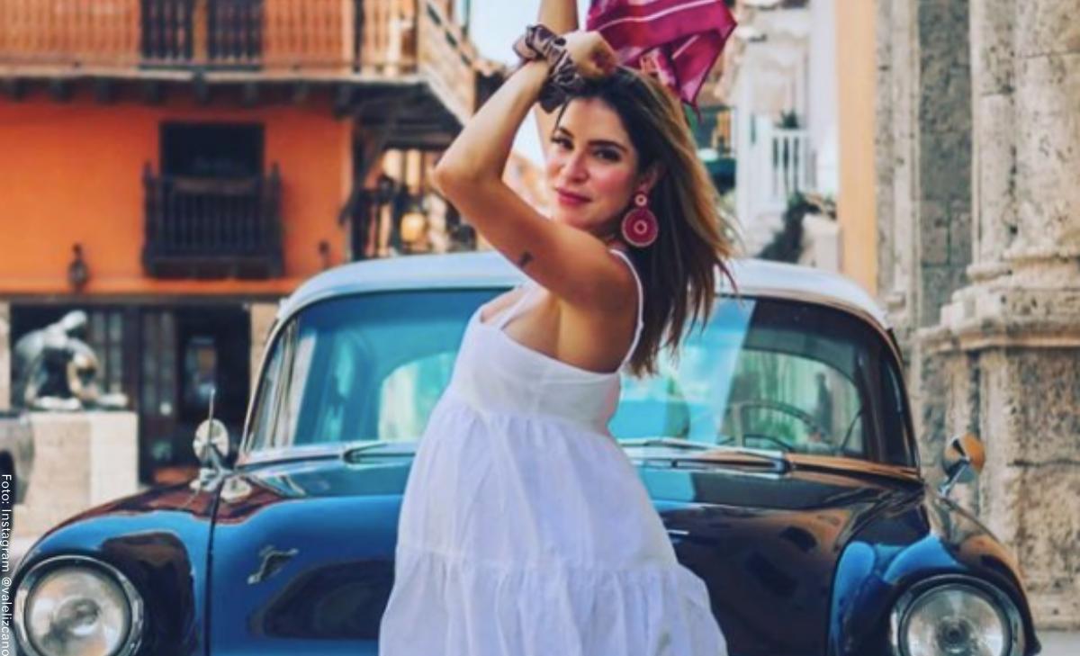 Valentina Lizcano enamoró a sus fans con una foto junto a su familia