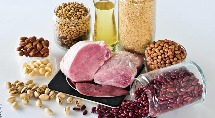 Foto de los ingredientes con vitamina B1