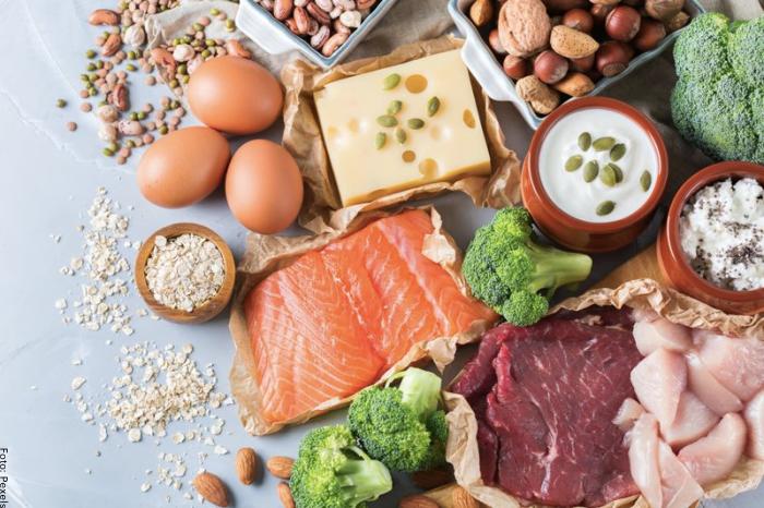 Foto de los ingredientes que tienen vitamina B12