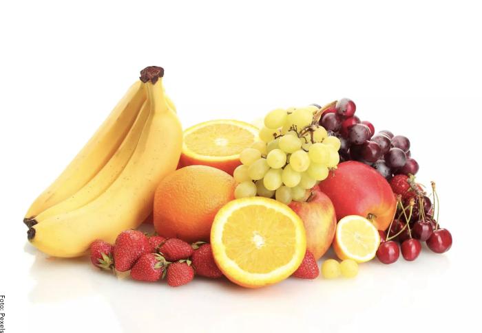Foto de las frutas con vitamina B12