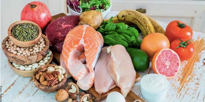 Foto de alimentos con vitamina B3