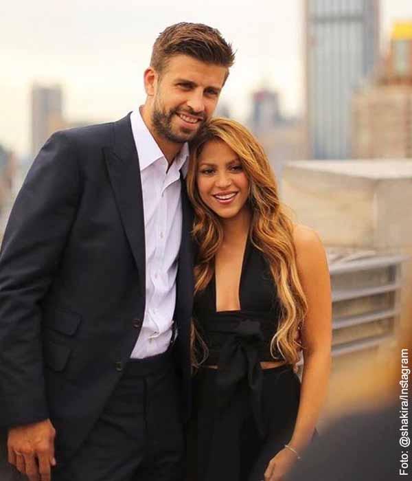 A Shakira y Gerard Piqué se les creció el pequeño Sasha
