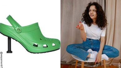 Balenciaga y Crocs añaden tacón a este calzado y cuestan una fortuna