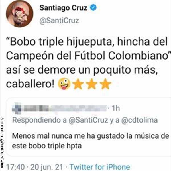 Club Deportes Tolima quedó campeón y Santiago Cruz se defendió de trino ofensivo
