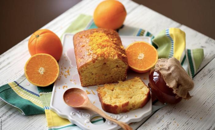 Foto de torta de naranja