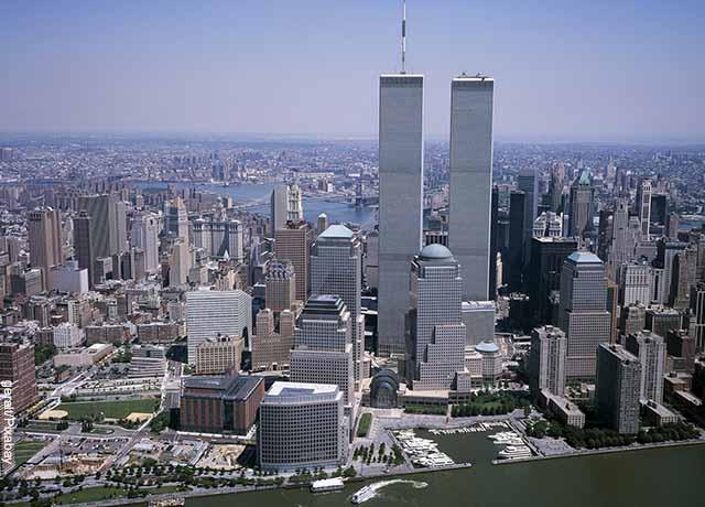 Foto de las torres gemelas que revelan las cosas que no sabías hace 5 minutos