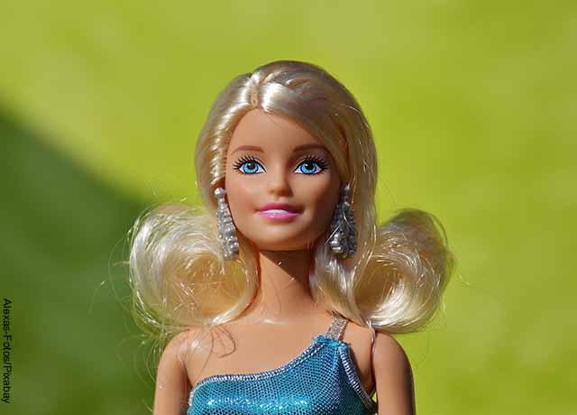 Foto de una muñeca Barbie