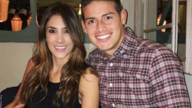 Daniela Ospina y James Rodríguez juntos en un yate