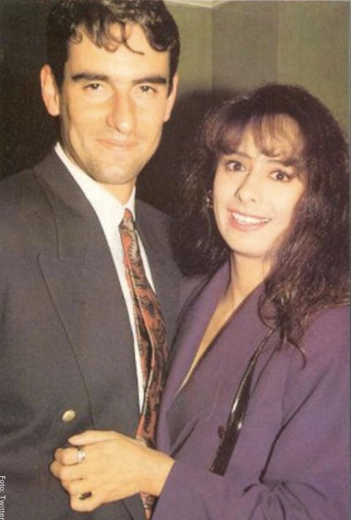 Foto de Miguel Varoni con Patricia Ércole