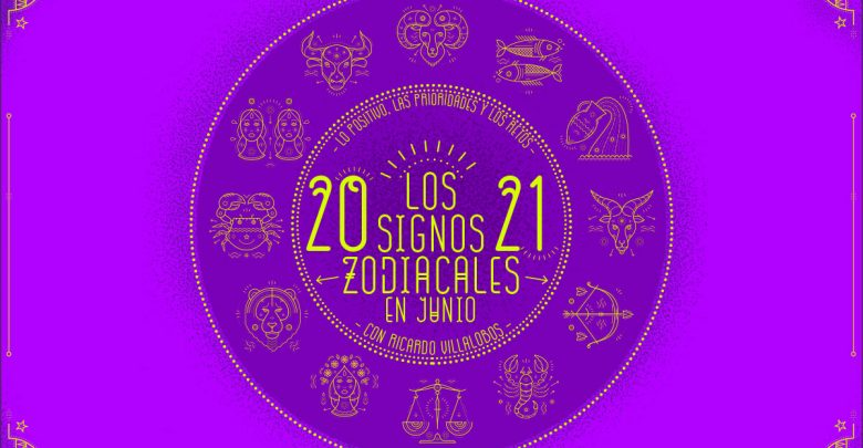 Horóscopo mensual 2021 de Ricardo Villalobos: Junio