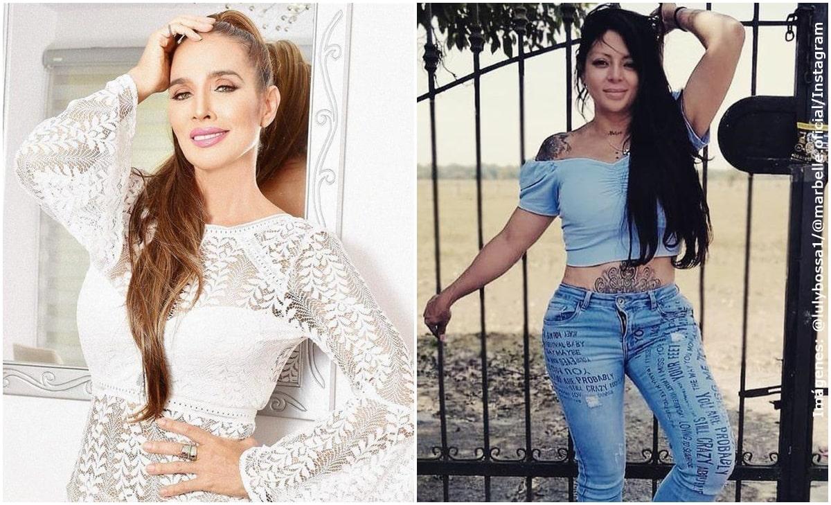 ¡Marbelle y Luly Bossa protagonizaron acalorada discusión en redes!