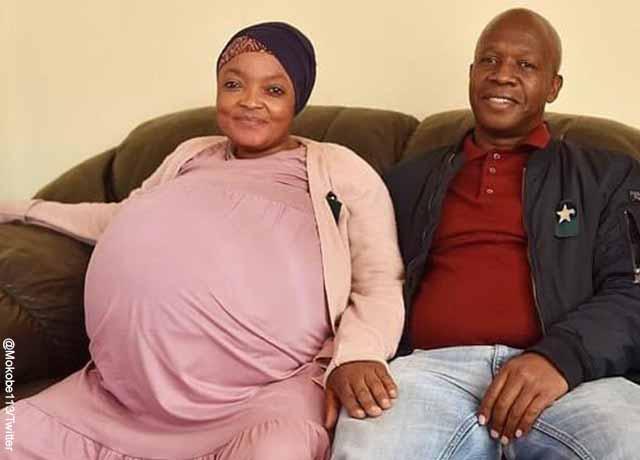 Mujer dio a luz a 10 bebés y rompe un récord mundial