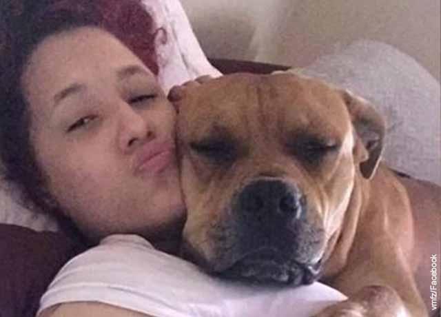 Mujer quería adoptar mascota pero encontró a su perro perdido