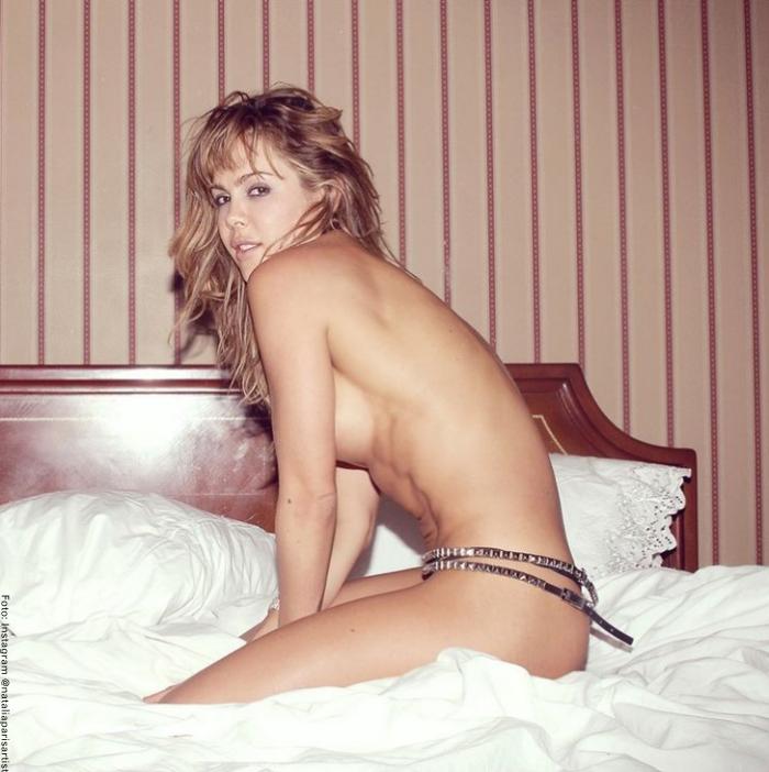Foto de Natalia París sin ropa