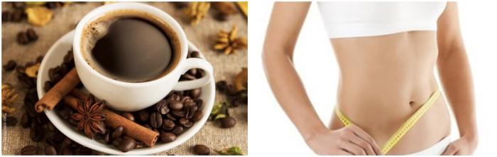 Foto de café para bajar de peso