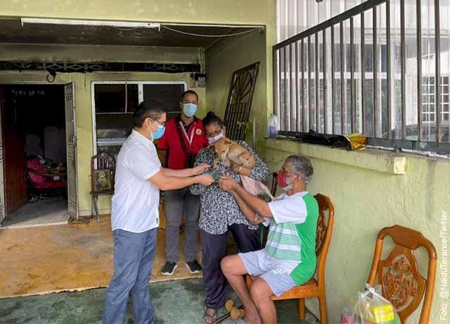 Perrita le salvó la vida a su familia en medio de un incendio
