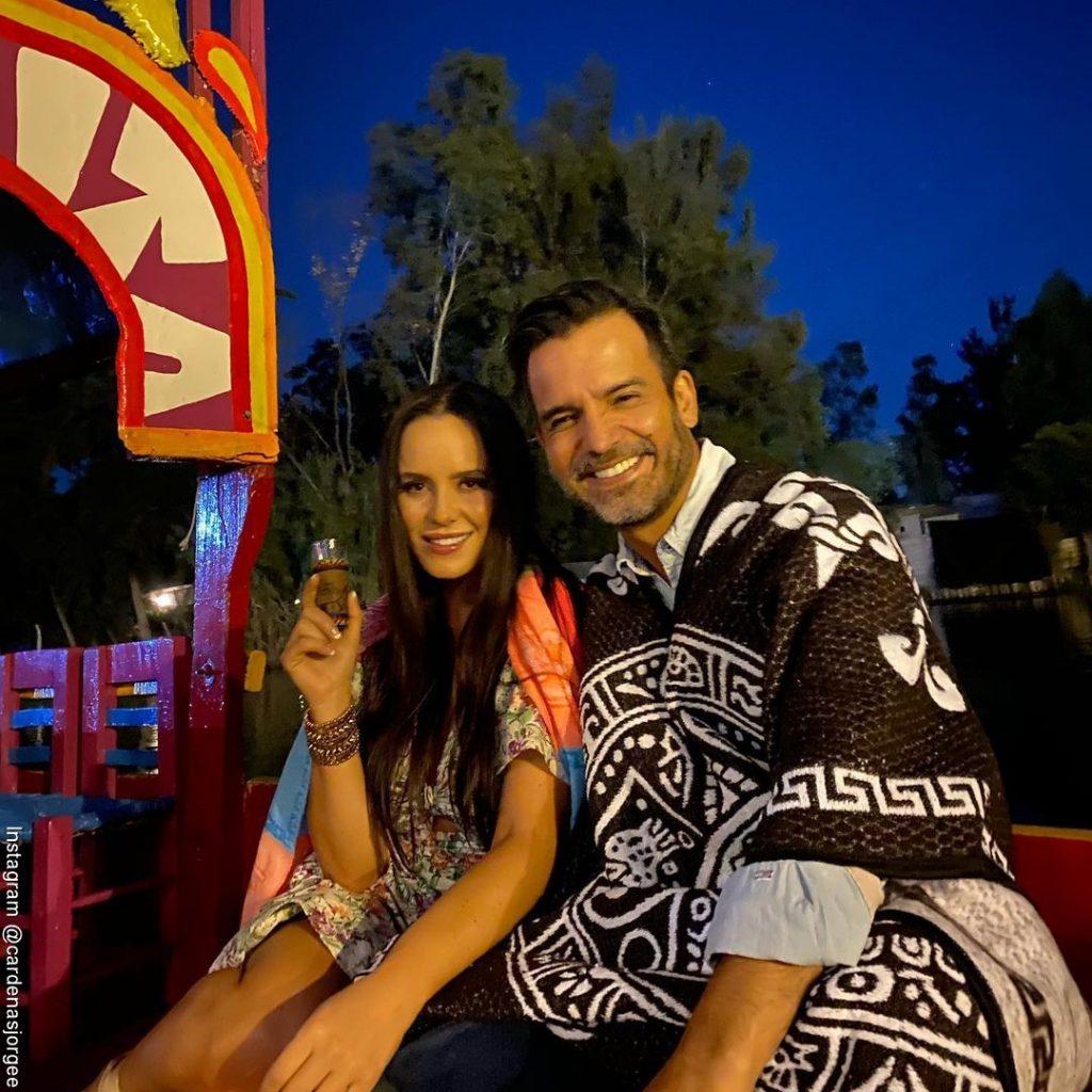 Foto de Jorge Cárdenas y Ana Lucía Domínguez en México