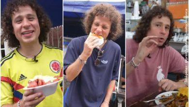 ¡Qué chulada! Luisito Comunica probó comida callejera de Cali y le encantó