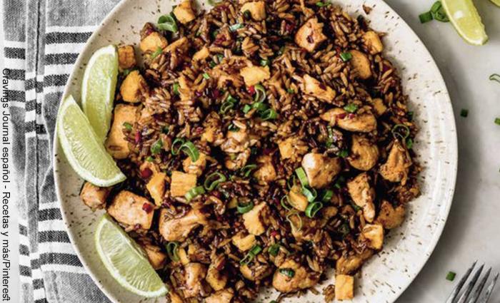 Foto de arroz chaufa