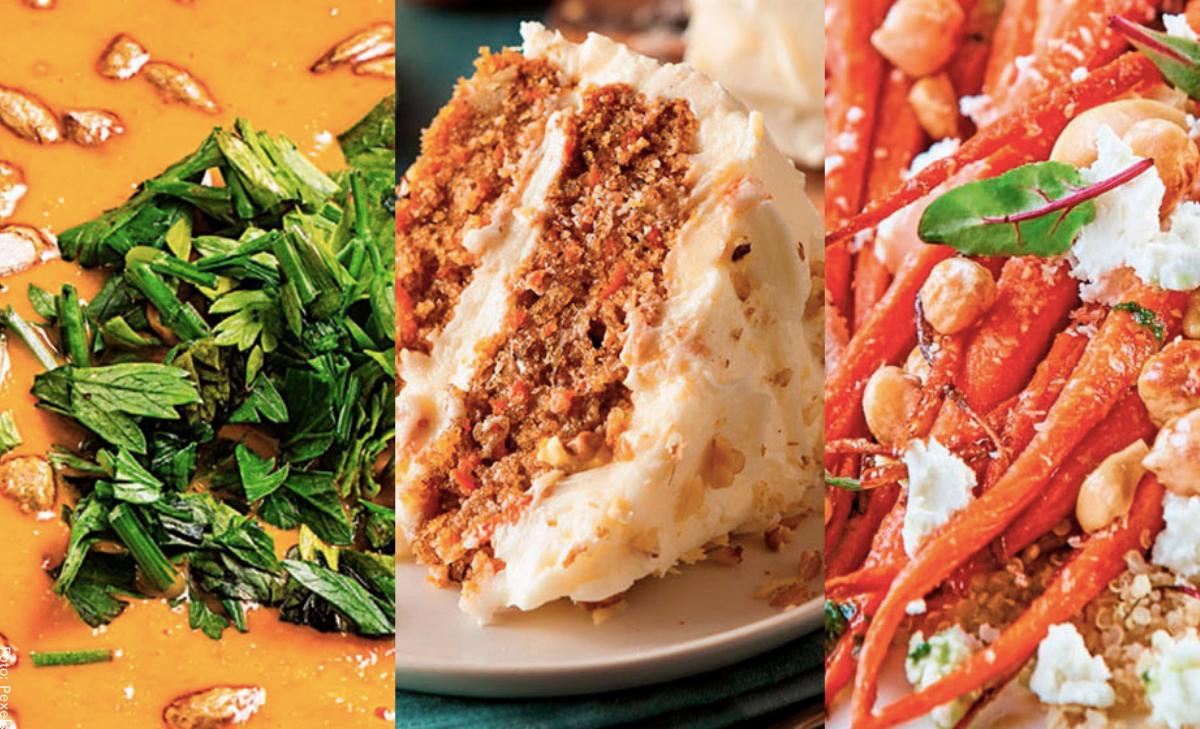 Recetas con zanahoria, ¡saludables y deliciosas!