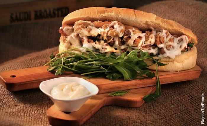 Foto de sándwich cubano
