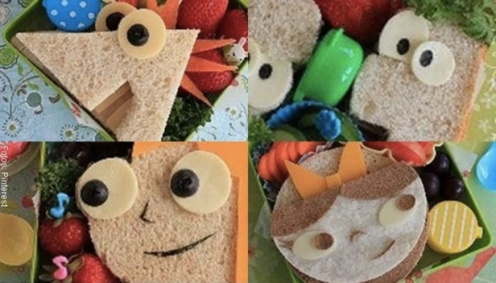 Foto de sándwiches para niños