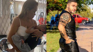 Sandra Barrios no felicitó a Jessi Uribe el Día del Padre, sino a su novio