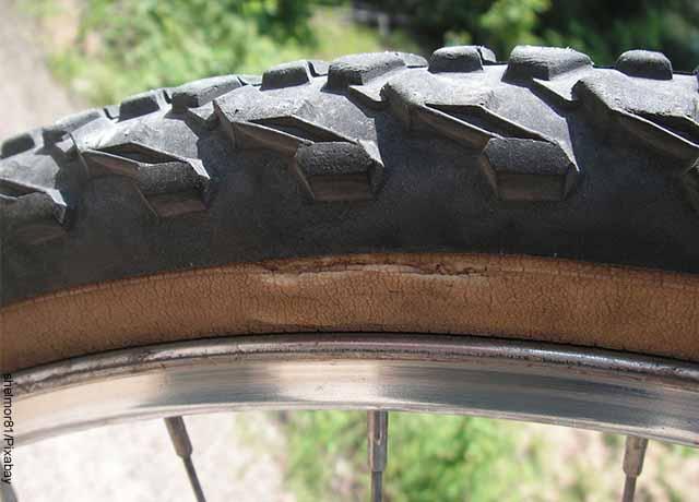 Foto de un neumático