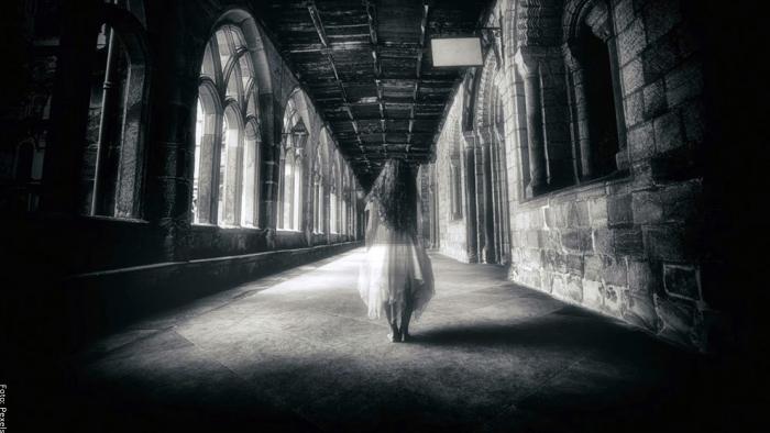 Foto de una mujer fantasma